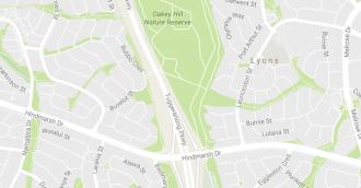 Four car smash blocks Tuggeranong Parkway southbound