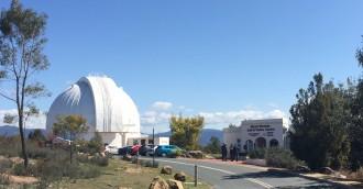 Mt Stromlo centre so good even aliens will visit