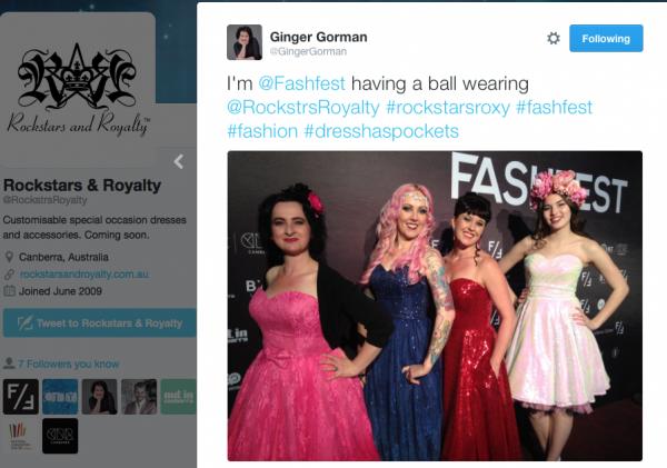 Ginger Gorman tweet