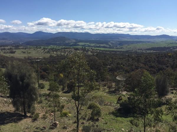 Mt Stromlo view