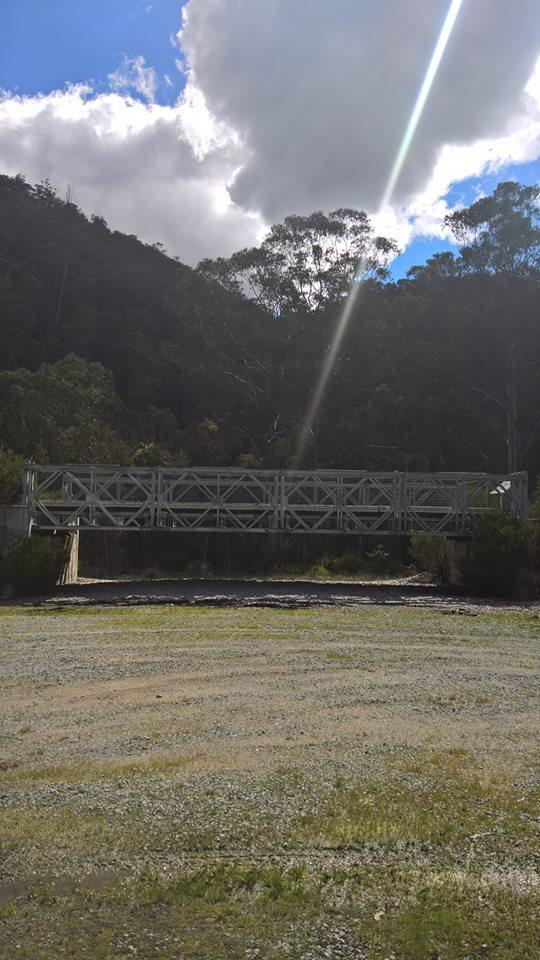 A bridge somewhere near Cabramurra
