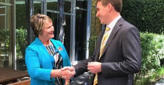 Coe to lead Libs with Lawder as deputy