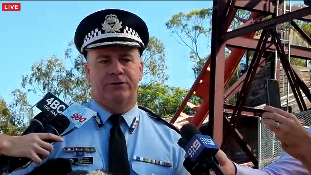 Queensland Police Assistant Commissioner Brian Codd.
