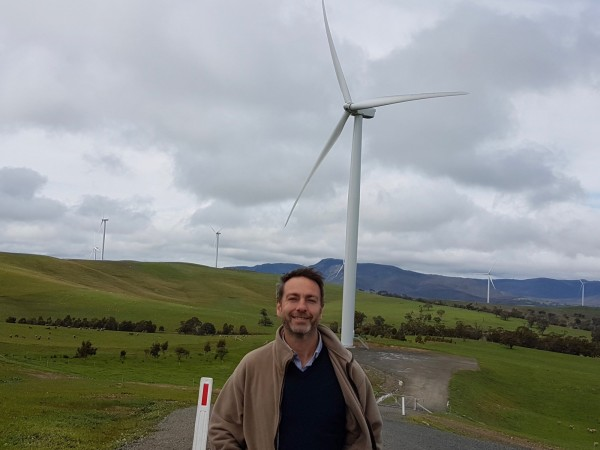 Wind Alliance spokesman Andrew Bray.