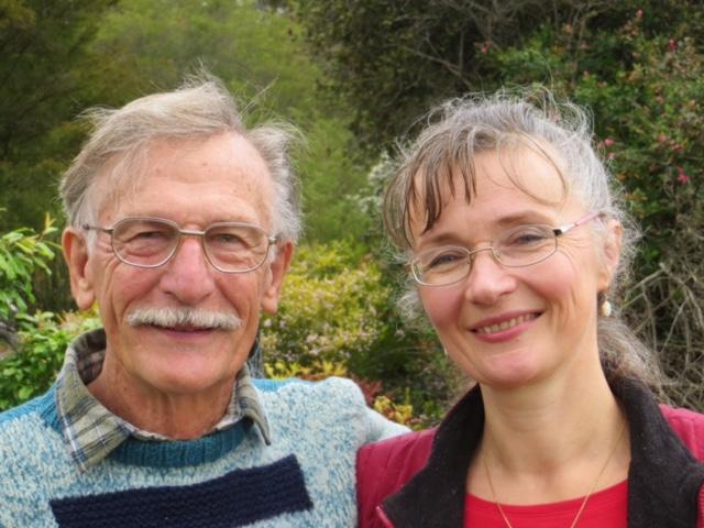 Alex and Ekaterina Mortensen. Photo: John Thistleton