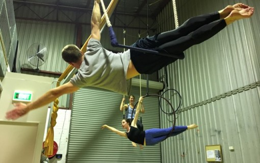 Aerial acrobatics: the new fun way to get fit
