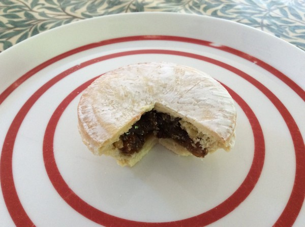 Crust bakery's mince pie