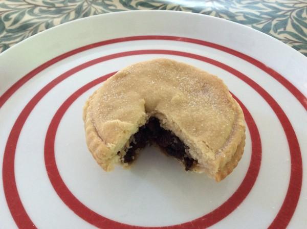 Deeks Cafe's mince pie
