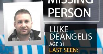 Have you seen missing man Luke Deangelis?