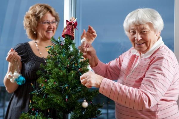 Christmas tree dressing