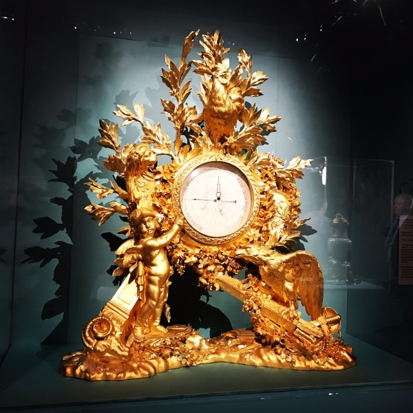 An ornate barometer. Photo: Charlotte Harper