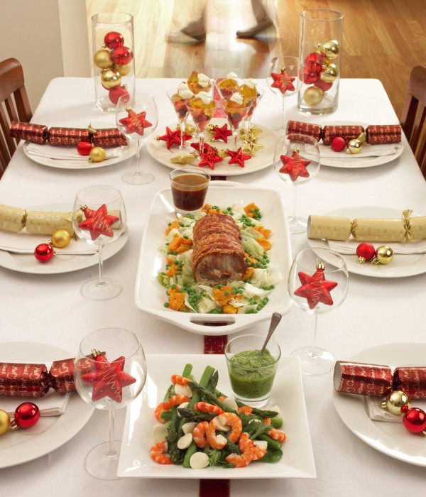 Christmas dinner table. Photo: iStock