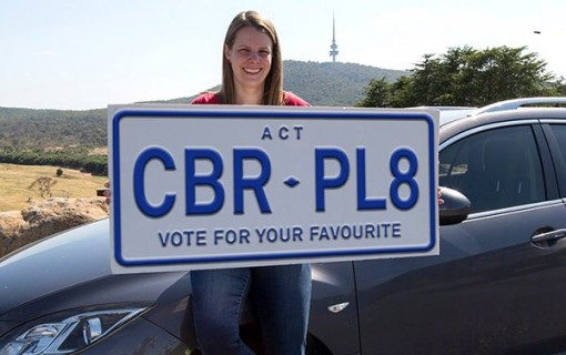 Voting open as Barr announces ACT numberplate slogan shortlist