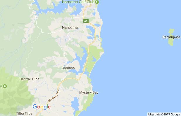 Central Tilba on Google Maps