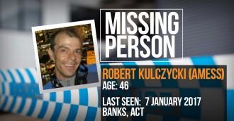 Have you seen missing man Robert Kulczycki?