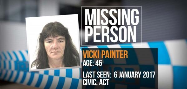 missing person vicki painter