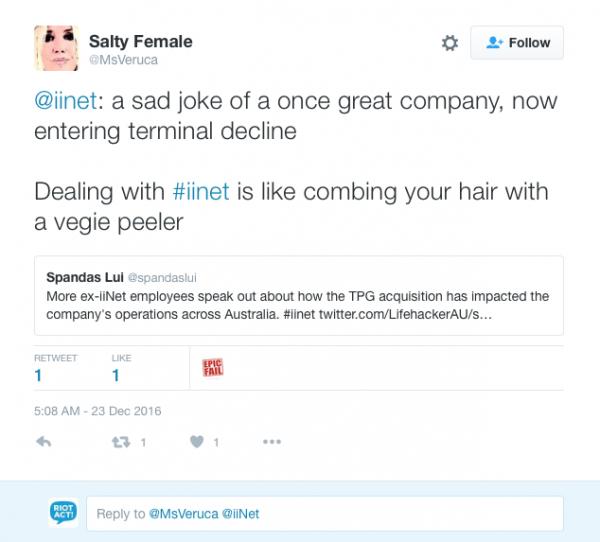 iiNet complaints