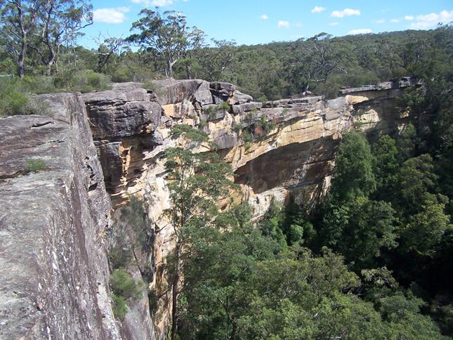 Tianjara Falls near Nerriga