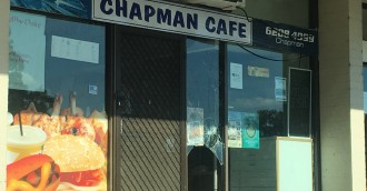 Chapman Cafe, Cool Pools broken into overnight