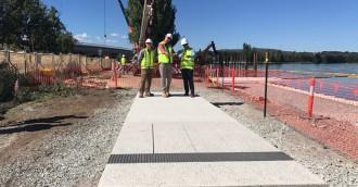 $14m City to Lake boardwalk, park begin to take shape