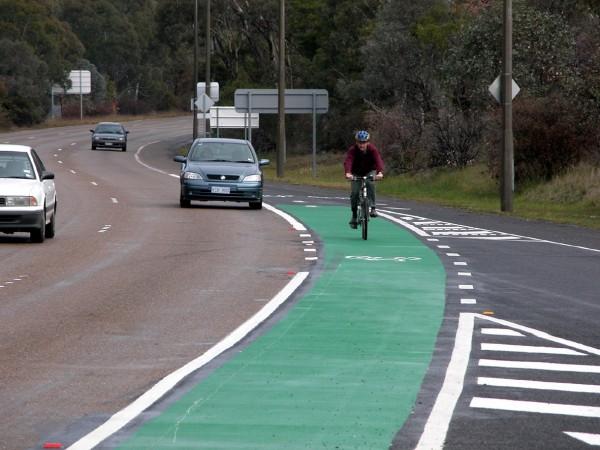 Canberra cyclist
