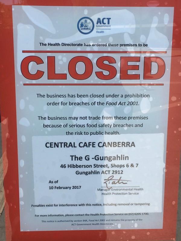 Central Cafe Gungahlin