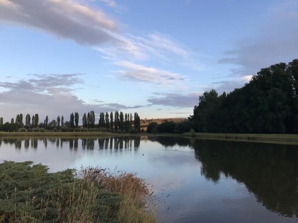 The lake at Mona. Photo: Charlotte Harper