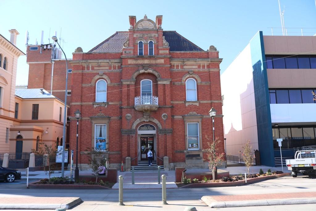 The McDermott Centre in Goulburn's main street. Photo: Goulburn Mulwaree Council.