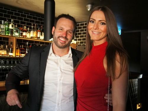 Owner Mike Kadinski and fiancee Sophia Carlini
