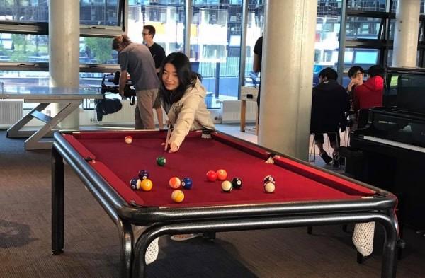 SA5 pool table. Photo: Charlotte Harper
