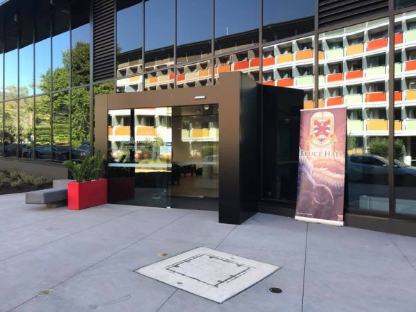 SA5 entrance. Photo: Charlotte Harper