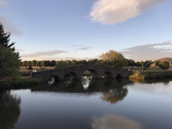 The stone bridge. Photo: Charlotte Harper