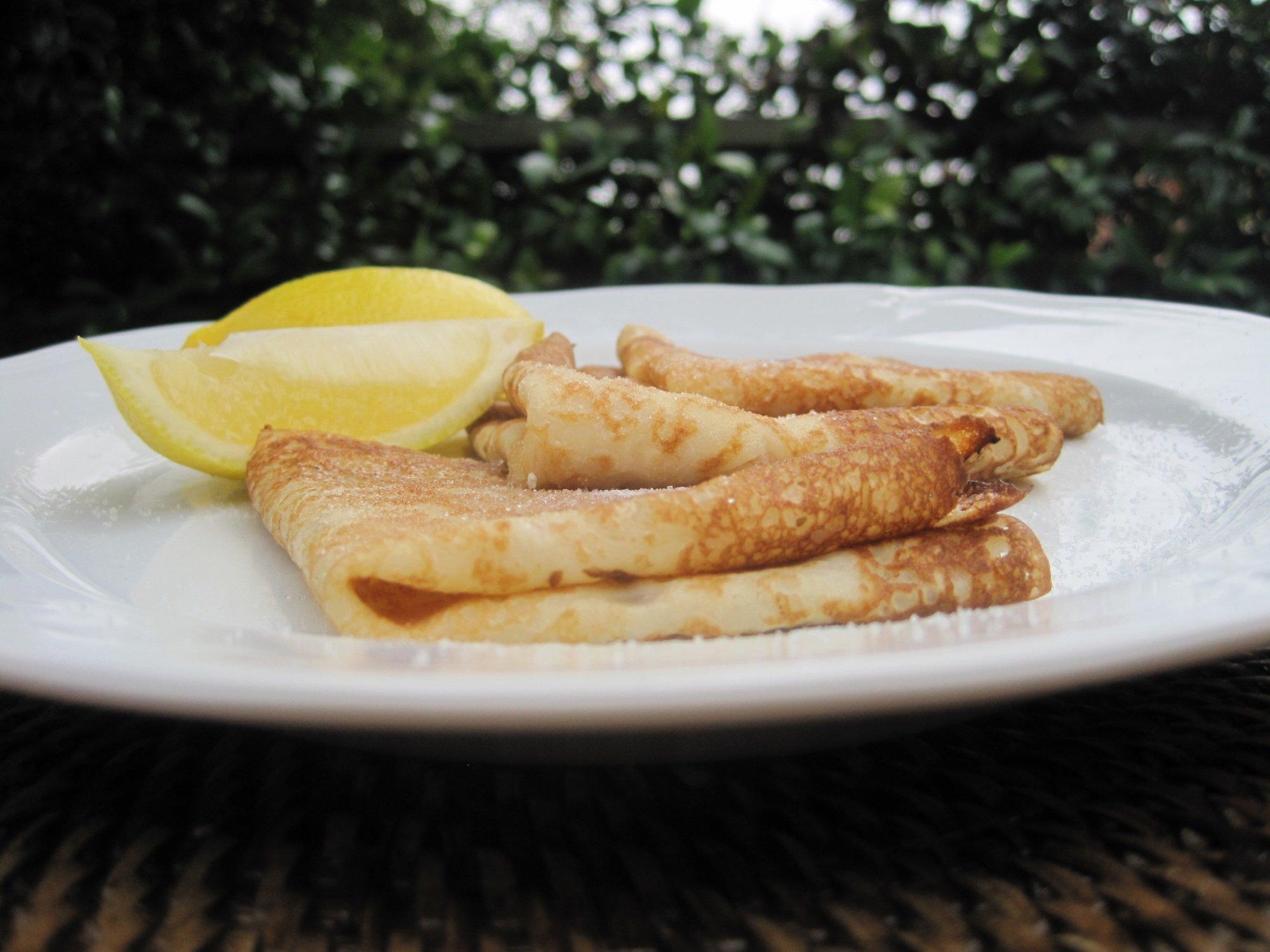 Pancake Day - crêpes recipe