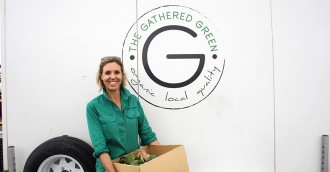 The Gathered Green produce box comes to Canberra