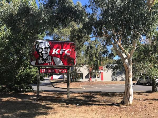 KFC Fyshwick. Photo: Charlotte Harper