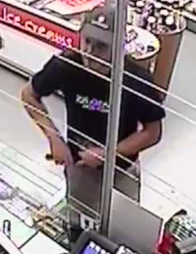 Still from CCTV of offender.