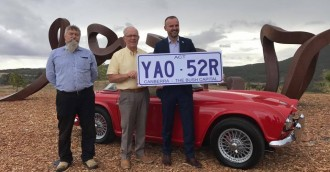 Bush Capital slogan tops ACT numberplate poll