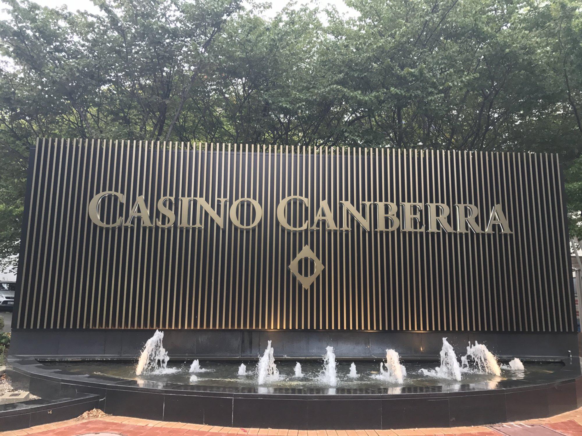 Casino Canberra entrance