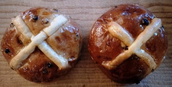 The Flute hot cross buns