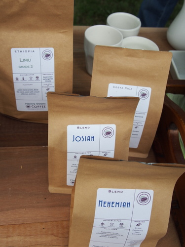 A selection of Ministry Grounds coffees