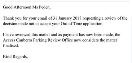 ParkingFineEmails