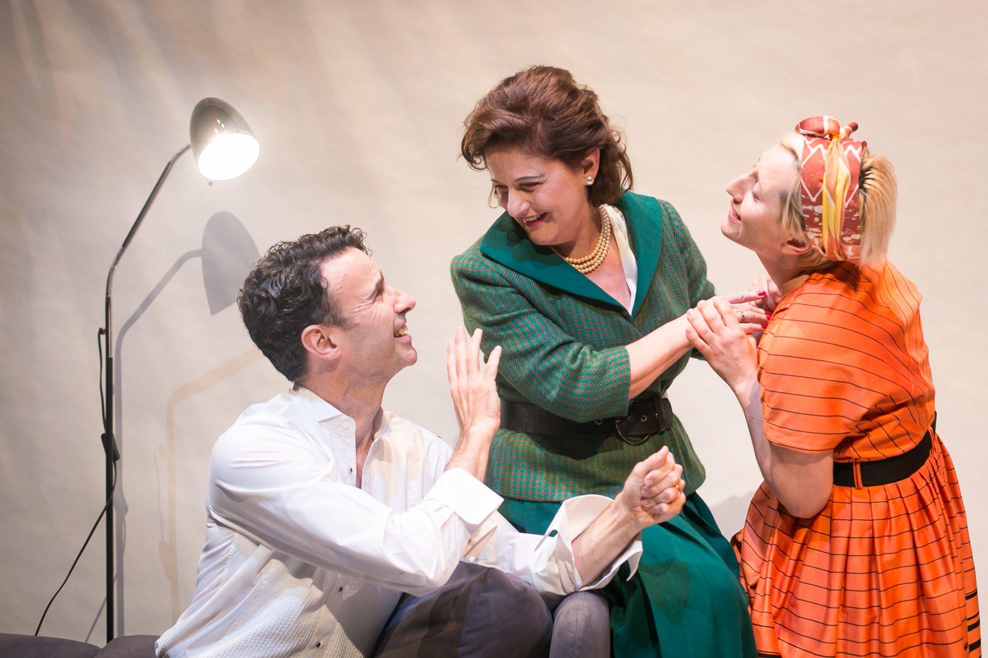 Tobias Cole as Ambrose, Sonia Todd as Edith, Kiki Skountzos as Amelia