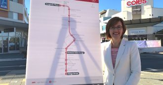 Naming light rail stops after nearby streets makes sense