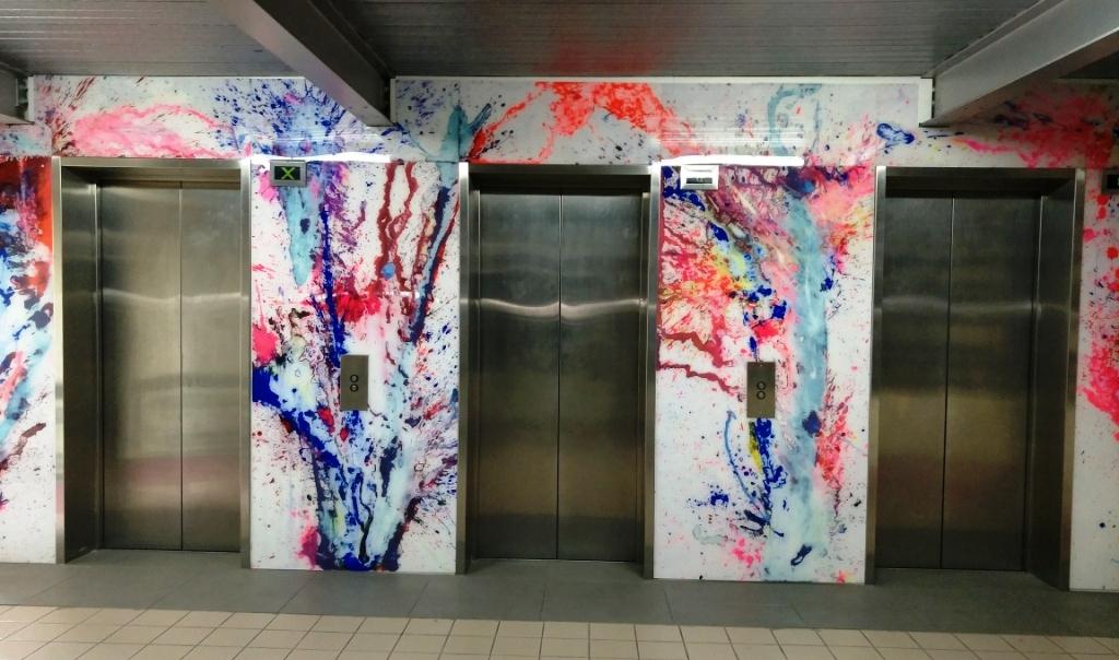 Lift Lobby Level Three Citywest Carpark