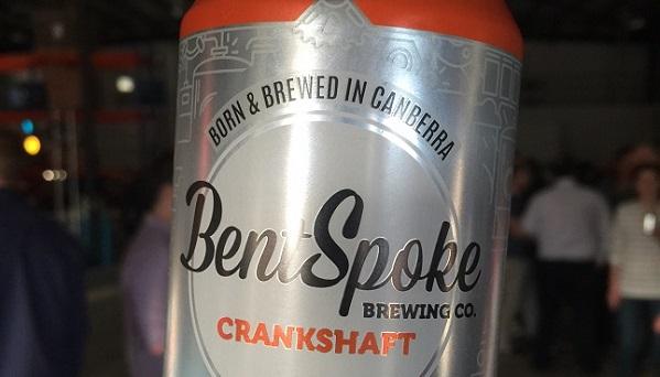Bentspoke beer Canberra