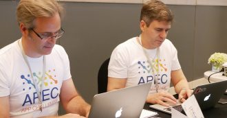 Two Canberra IT experts hit the world stage with APEC App Challenge win