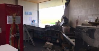Amaroo Oval facilities damaged by stolen bobcat