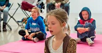 Creative meditation for children