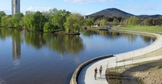 Canberra leads the nation on cycling participation in 2017