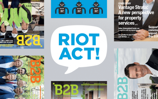 RiotACT Announcement  B2B Magazine joins RiotACT family